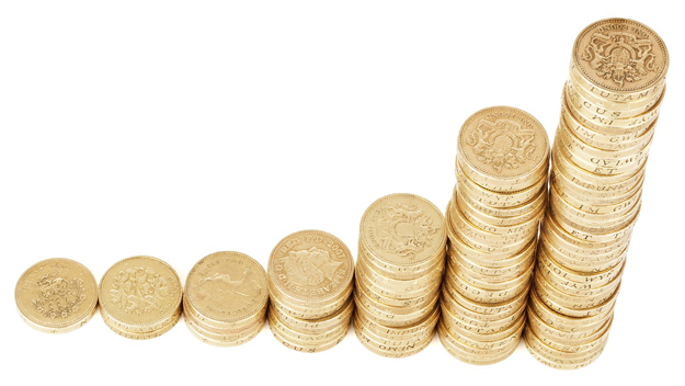 Grafic bani