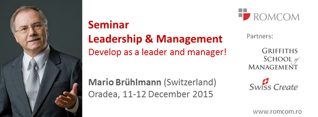 Seminar leadership management 2015